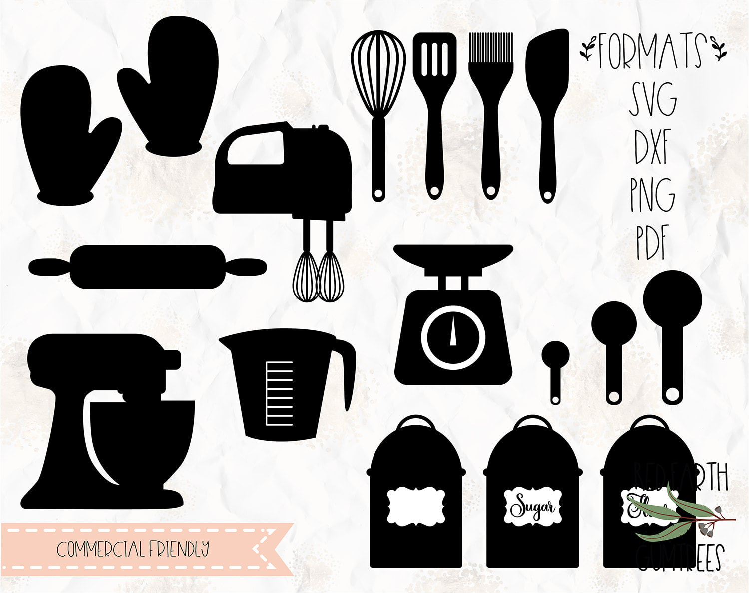 Baking Kitchen Utensils Bundle Baking Utensils Baking